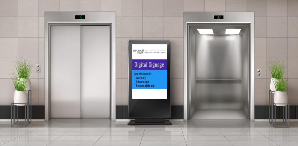 Bild: Digital-Signage